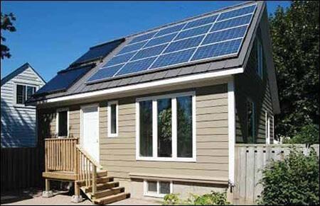 Telhado com Aquecimento e Geração Fotovoltaica